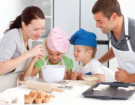 preparare dolci famiglia