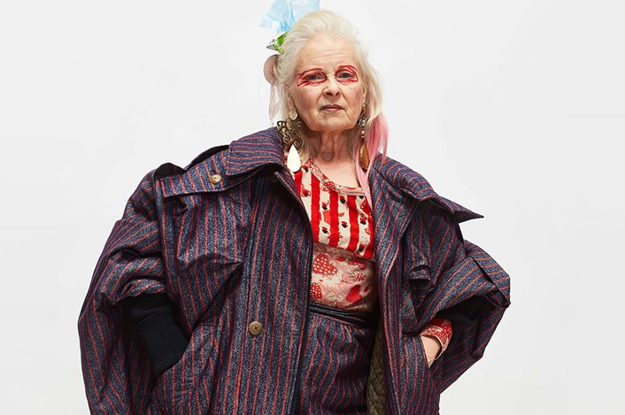 Vivienne Westwood off the stage