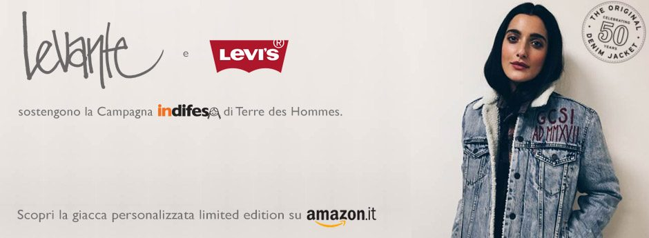 Levante e Levi's per Terre del Hommes