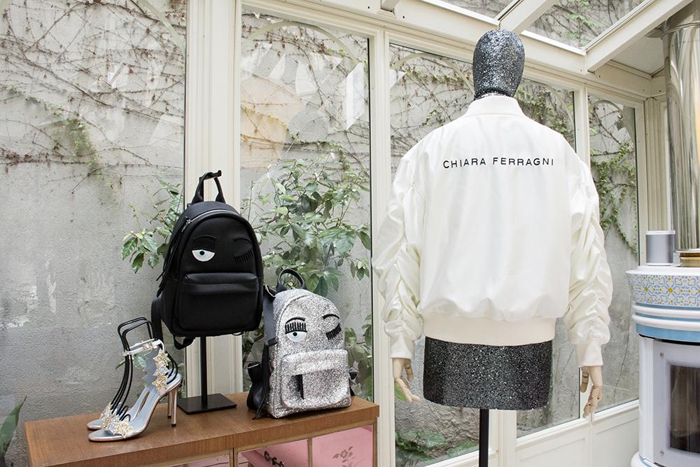 Chiara Ferragni Opening Milan Store