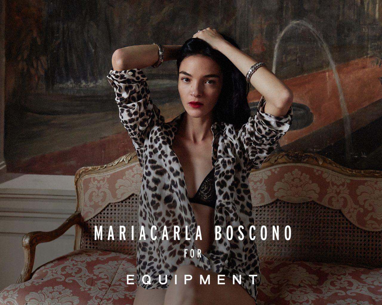 Mariacarla Boscono for Equipment