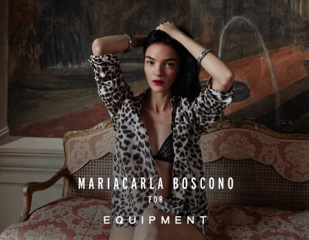 Mariacarla Boscono for Equipment