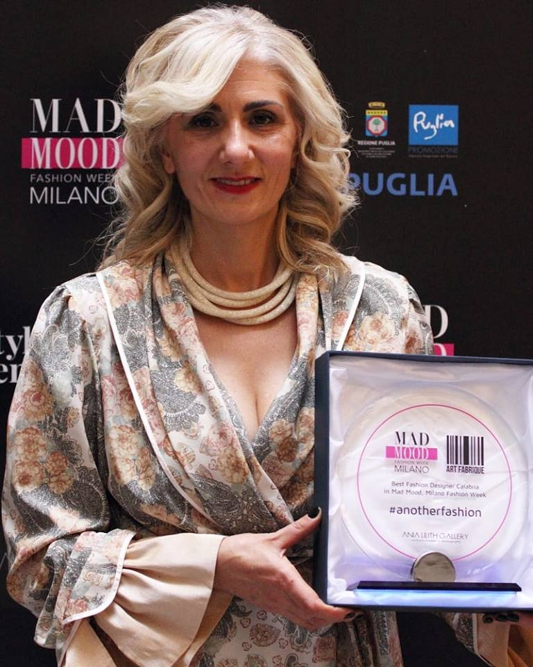 la vincitrice calabrese Vincenza Savino