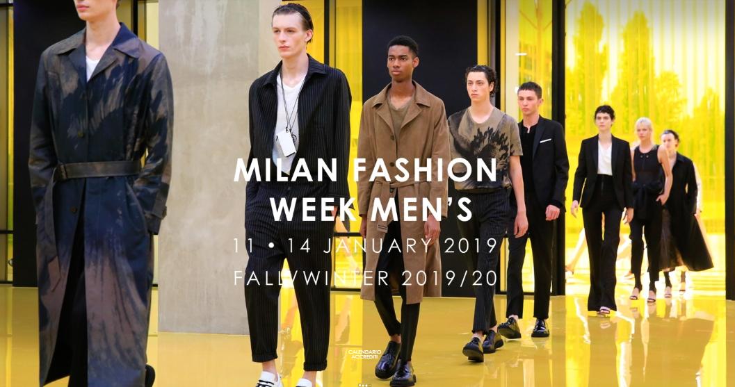 Milano Moda Uomo 2019