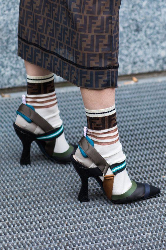accessori primavera estate 2019 _ Fendi socks