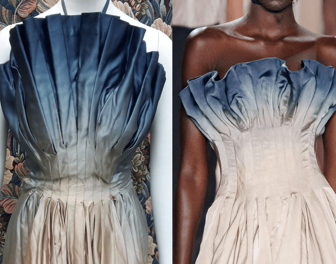 ispirazione vs copia_ Mad Carpentier 1952 _ Dior 2019