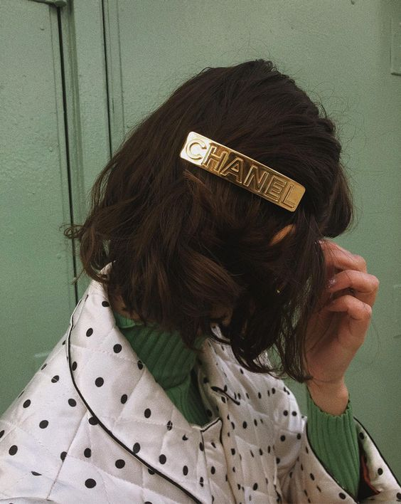 accessori primavera estate 2019 - hairclip chanel