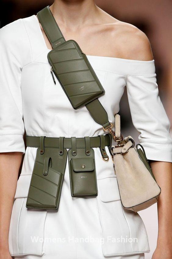 accessori primavera estate 2019 _ utility army Fendi