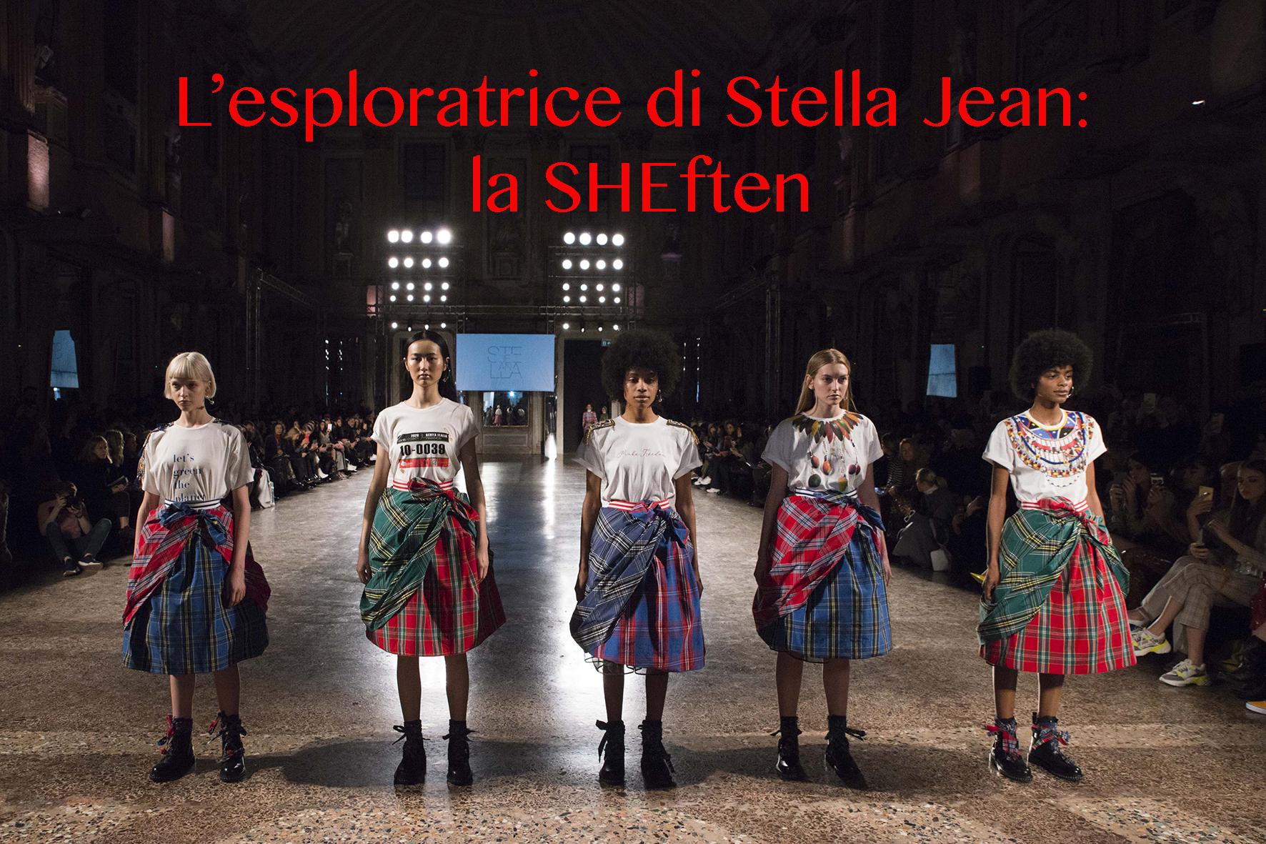 L'esploratrice di Stella Jean: La SHEften.