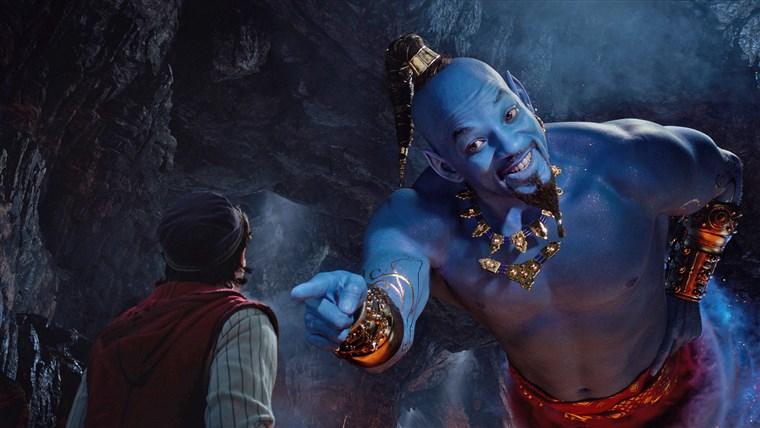 Aladdin al cinema- Il genio