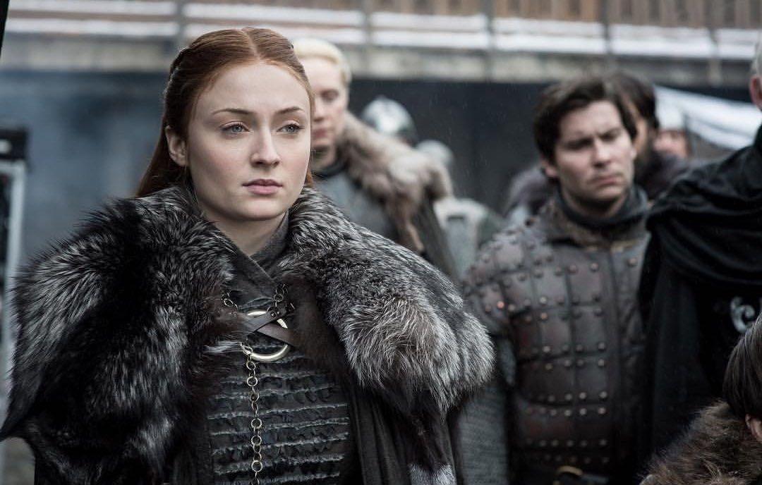 Sophie Turner l'attrice che interpreta da sempre Sansa Stark la Lady di Winterfell