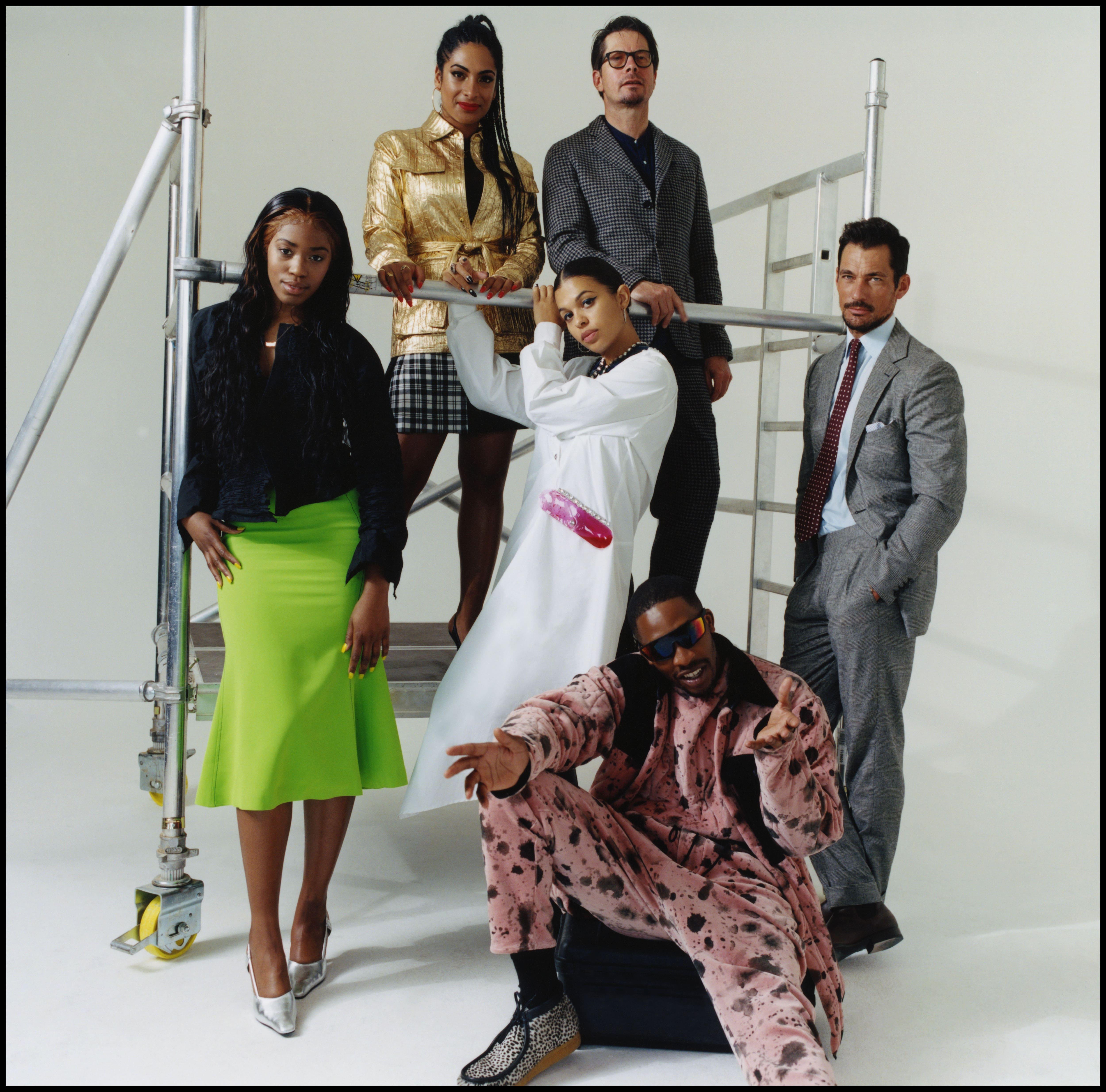 """""""This is London"""". La nuova campagna per la London fashion week uomo, giugno 2019, celebra i talenti e la creatività britannica."""
