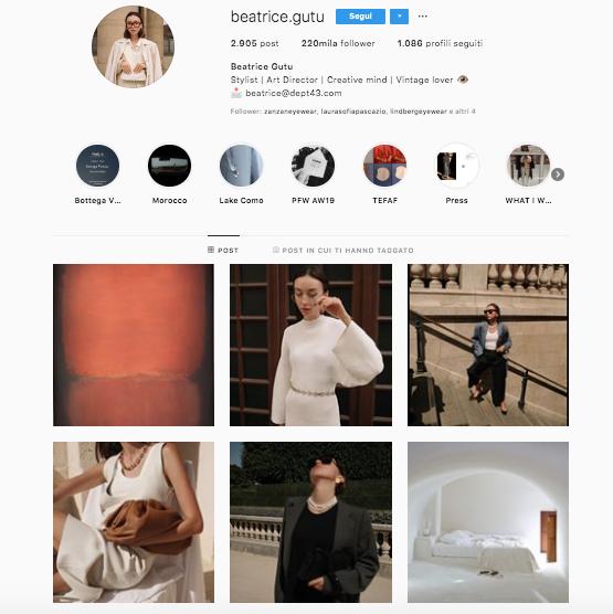 chi seguo su instagram? profili da seguire per aggiornare il vostro feed @beatrice.gutu