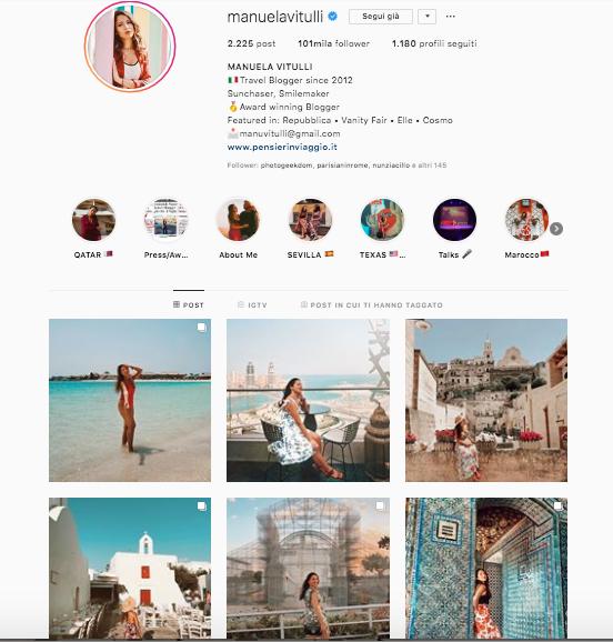 chi seguo su instagram? profili da seguire per aggiornare il vostro feed @manuelavitulli