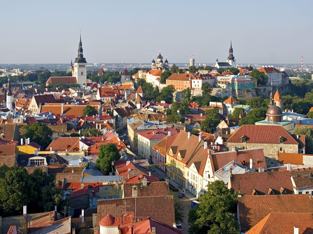 città vecchia tallin