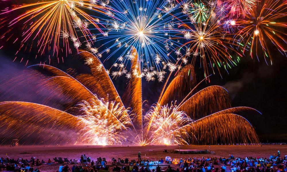 fuochi d'artificio ferragosto