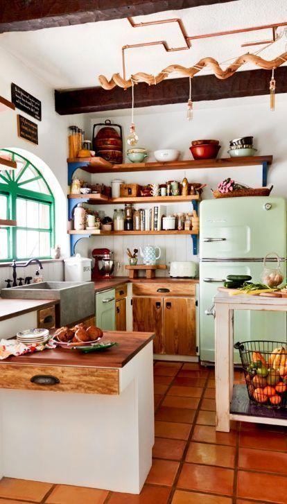 ristrutturazione cucina-vintage vibes