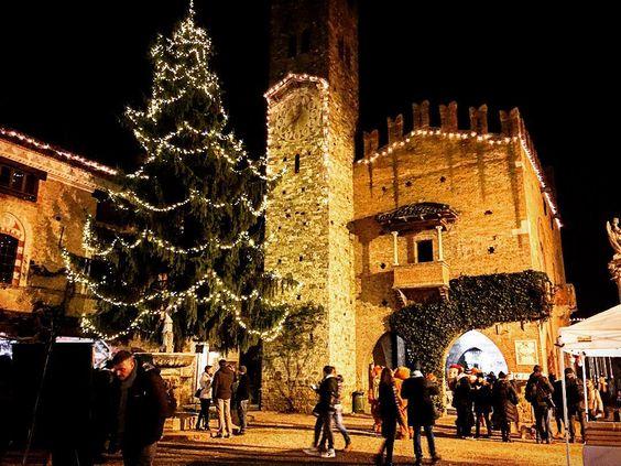 Borgo di Grazzano Visconti per l'Immacolata 2019
